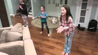 Video Annie Hayley and Sydney dance to Grenade By Bruno Mars download MP3, 3GP, MP4, WEBM, AVI, FLV Juli 2017