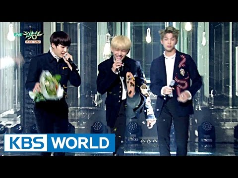BTS Music Bank BAREFOOT Ceremony [Music Bank / 2016.10.28]