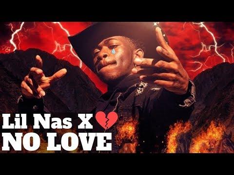 Lil Nas X - No Love (Lyric Video) - YouTube