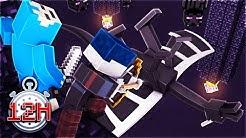 12 STUNDEN LANG Minecraft auf dem KOPF (EXTREM)