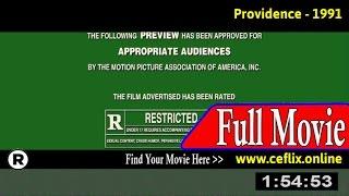 Providence (1991) Full Movie Online