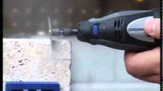 how to cutting ceramic tile dremel origo diy tools