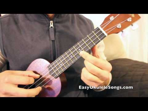 First Ukulele Lesson - One FInger Chords