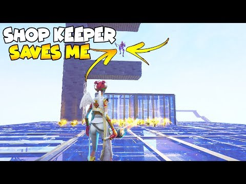 Shop Keeper Saves Me From Evil Scammer! (Scammer Gets Scammed) Fortnite Save The World