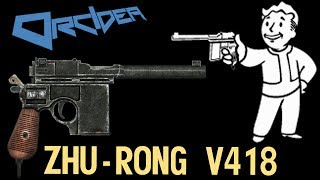 Fallout 3 Unique Weapons - Zhu-Rong v418 Chinese Pistol thumbnail