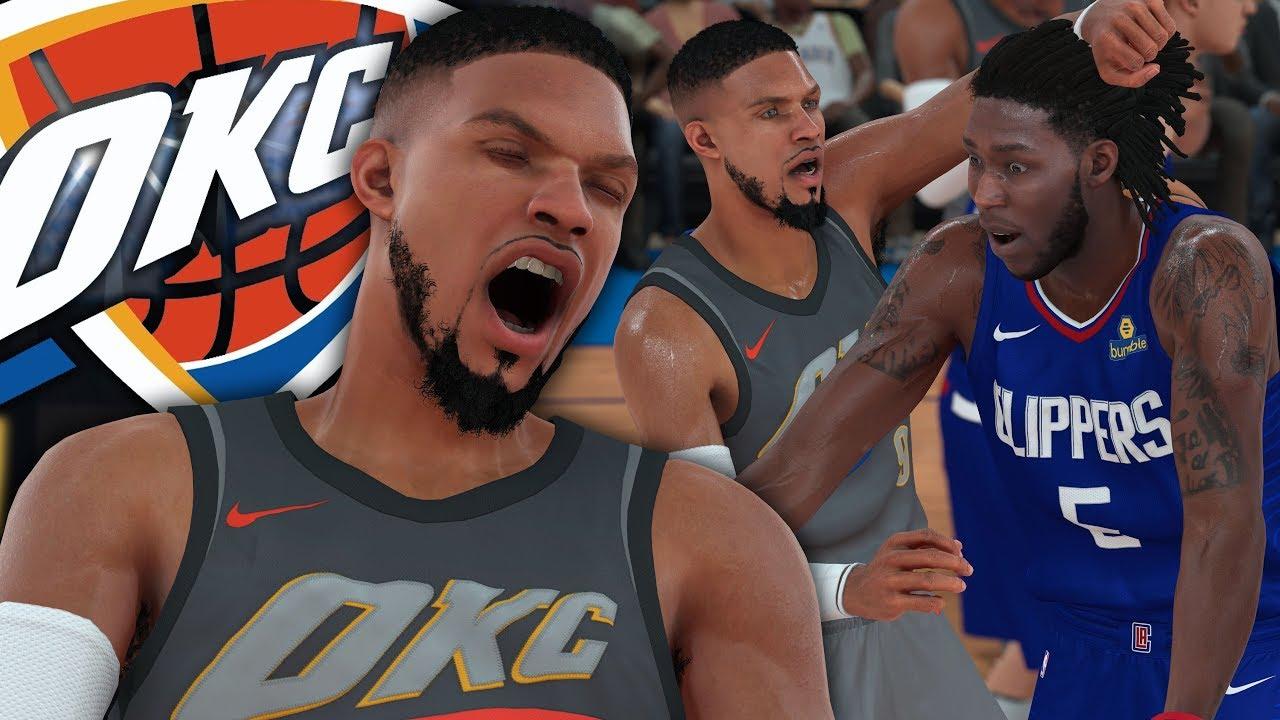 NBA 2K18 MyCAREER - Eli Punches Defender! DeShawn Gets ...