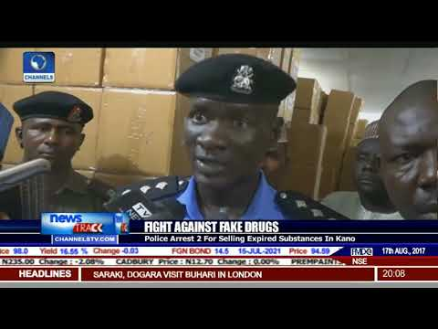 Police Arrest 2  For Selling Expired Substances In kano