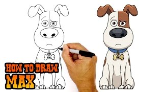 How to Draw Max | Secret Life of Pets