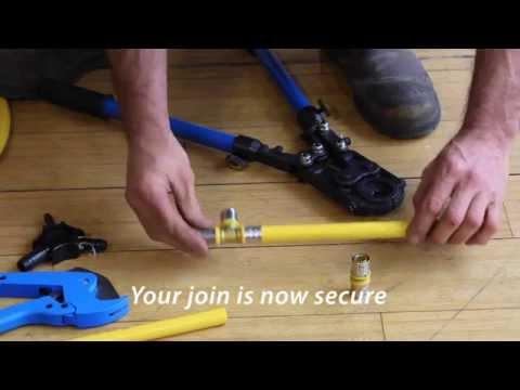 Gastite Crimp Fittings For Gas Plumbing