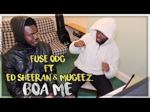 Fuse ODG ft. Ed Sheeran & Mugeez - Boa Me (Music Video) WITH TWI TRANSLATION - REACTION