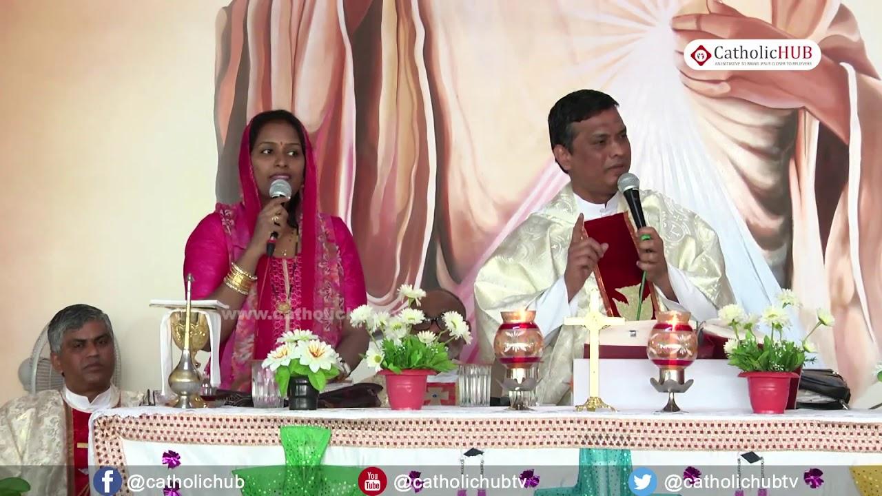 YEAR BUILT ON BY GOD By Rev Fr Syril Dass SVD @  Divine Mercy Center, Habsiguda,Hyd 01 01 18 mp4