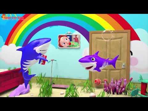 baby shark dance pinkfong songs /أغنية طفلي القرش المشهورة ...