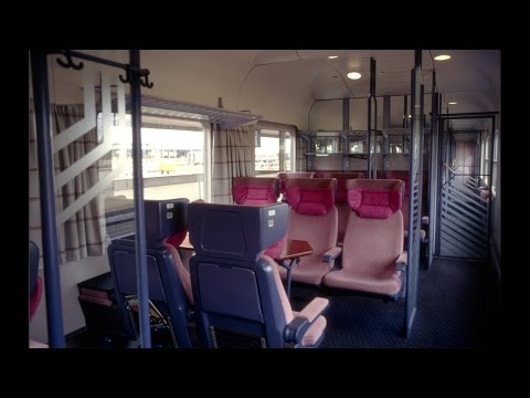 Large Compartments And More On The German InterRegio Trains