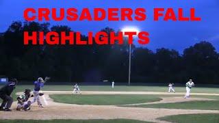 CRUSADERS BASEBALL CLUB 16U FALL HIGHLIGHTS