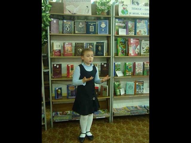 Изображение предпросмотра прочтения – ДарьяЯкина читает произведение «Русь» С.А.Есенина