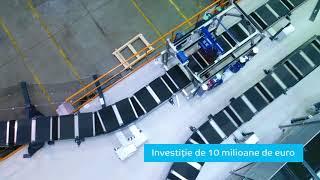 Noua bandă de picking eMAG, o investiție de 10 milioane de euro.