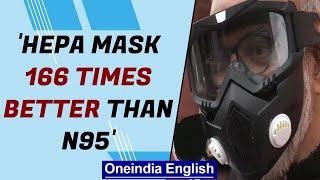 Narendra Jadhav attends Parliament wearing HEPA mask | Oneindia News