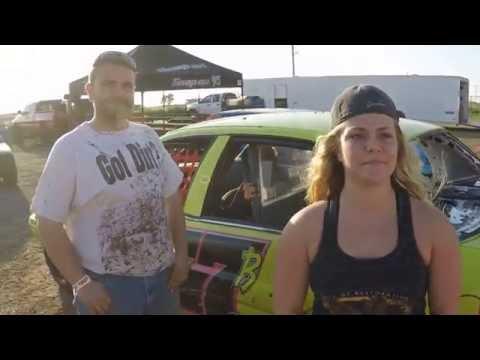 Elk City Speedway, interview with Diamond. - 6/17/2016