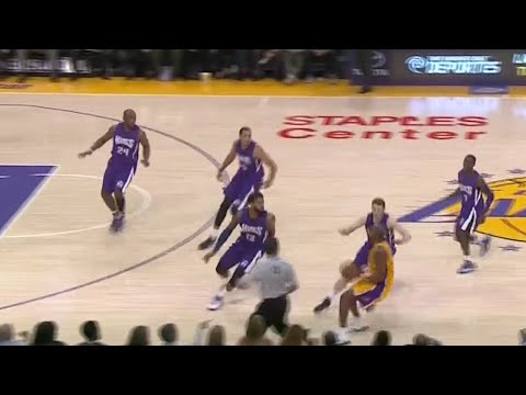 Mamba Mentality - 1 On 5!! KOBE REFUSES TO PASS & SHOOTS OVER ALL FIVE DEFENDERS!