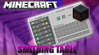 How to use smithing table videos / InfiniTube