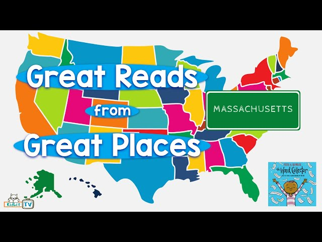Great Reads from Great Places Peter H.  Reynolds' THE WORD COLLECTOR Massachusetts