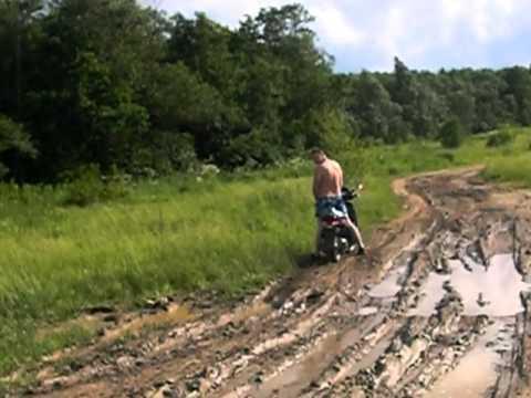 Деревня грязь всегда