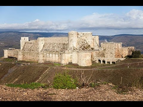 "Tour of ""Krak des Chevaliers"" Castle in Syria 