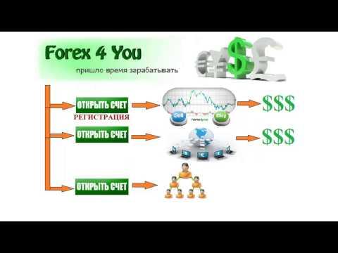 Заработать на форекс! Как заработать с Forex4you