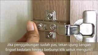 Instruksi Pemasangan Engsel Pintu ACTIV PREMIO/PALAZZO