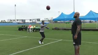 Christian Wade NFL training Part One
