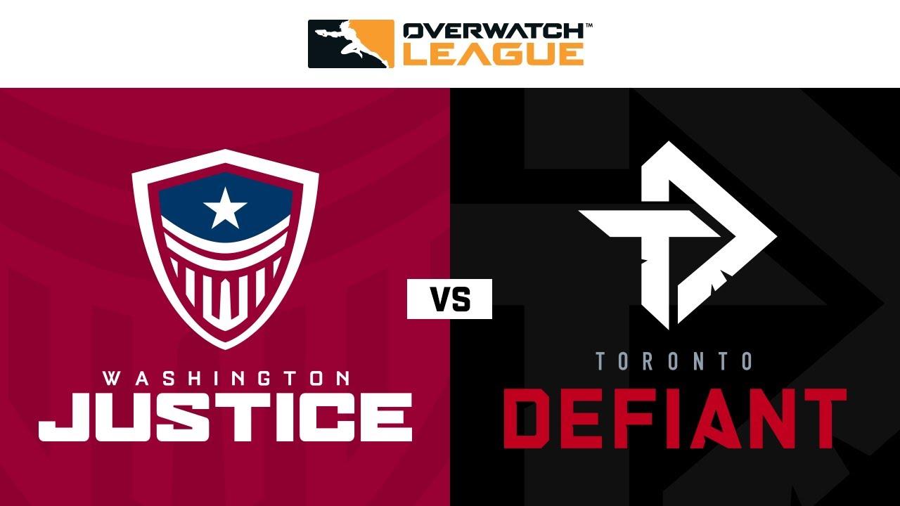 Washington Justice vs Toronto Defiant | Week 24 | NA Day 2
