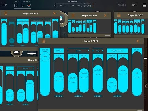 SHAPER - Smart Audio Destroyer - AUv3 Effect - Demo,Review & Tutorial for the iPad