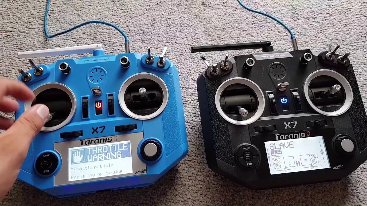 TARANIS QX7 buddy box