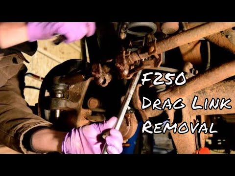 2005 F250 Drag Link Removal  YouTube