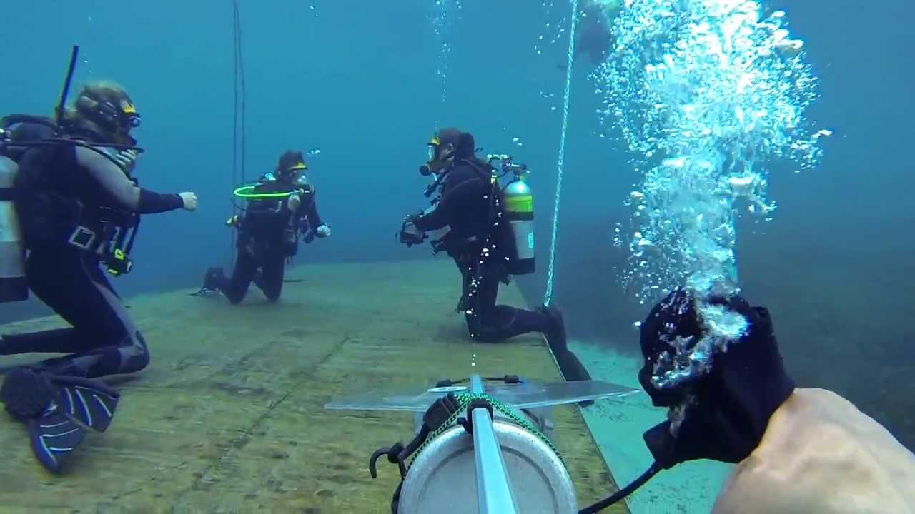 Gas Scuba Diving