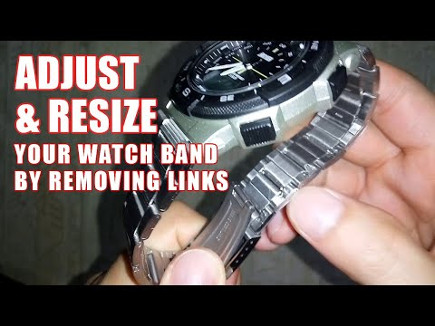 How To Remove Links From Watch Band: Easy Tool To Take Links Out Of Watch Bracelet