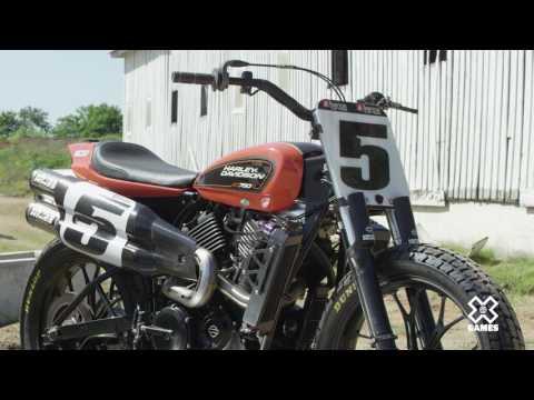 #5 Jake Johnson's #XG750R   Harley-Davidson