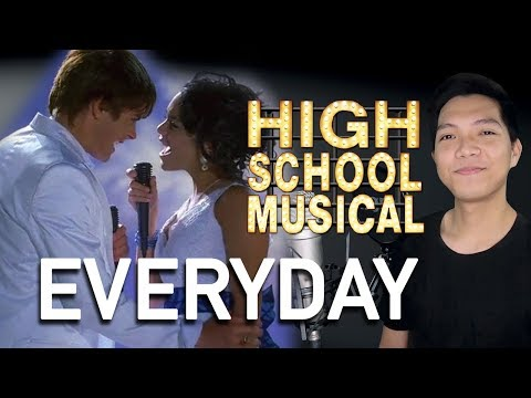 Everyday (Troy Part Only - Karaoke) - High School Musical 2