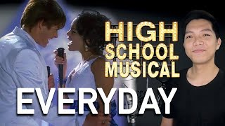 Cover images Everyday (Troy Part Only - Karaoke) - High School Musical 2