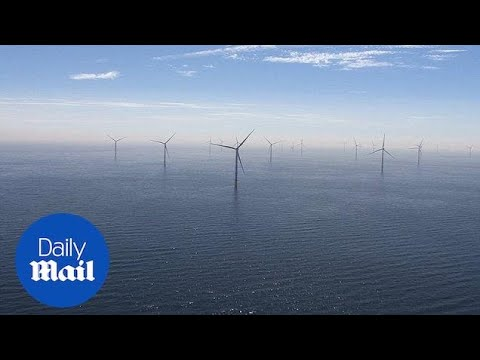 Take a look at the world's largest offshore wind farm project