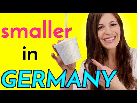 6 Things SMALLER IN GERMANY than in the USA