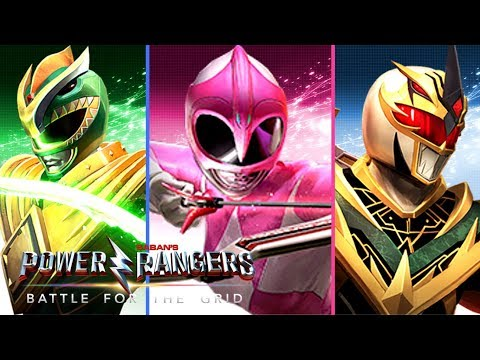 Power Rangers: Battle For The Grid - Standard Edition And Digital Collector's Edition Details!