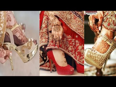 comfortable-bridal-shoes-collection-||-latest-bridal-shoes-sandles-designs