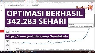 BERHASIL | Target Menghasilkan 300 ribu sehari dari 1 Channel YouTube - Motivasi YouTuber #2
