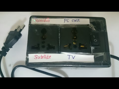 Power Saver Device Circuit Diagram | Power Saver Circuit For Tv And Satellite Or Monitor And Computer