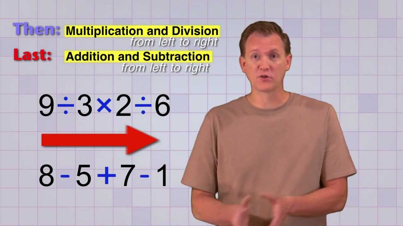 hight resolution of Math Antics - Order Of Operations - YouTube