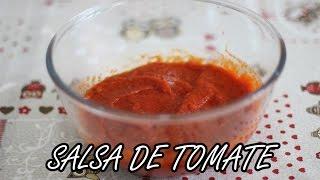 Salsa de tomate | Como preparar salsa de tomate con Thermomix (TM-31) | Pasos