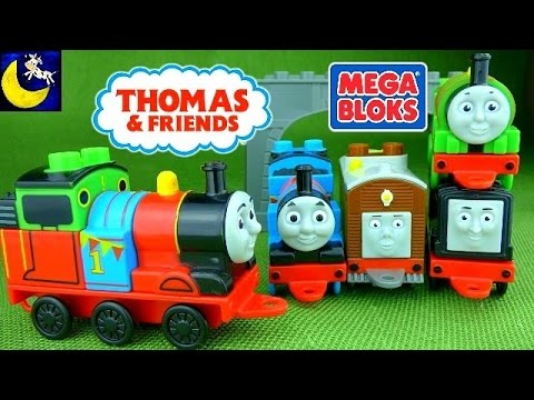 Thomas and Friends Mega Bloks Mix and Match Train Toys Buildable Diesel Toby Percy James Toys