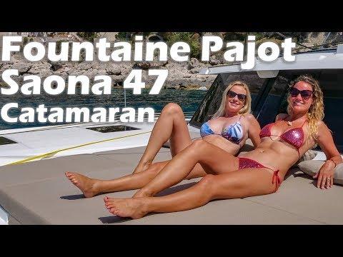 Fountaine Pajot Saona 47 Catamaran - Boat Tour