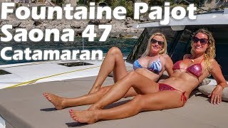 Fountaine Pajot Saona 47 Catamaran - Boat Tour